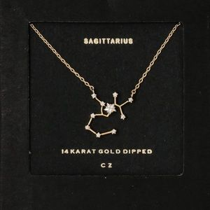 SAGITTARIUS | Constellation Zodiac Dainty Necklace